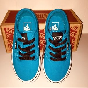 NWT Vans Atwood Canvas Hawaiian Ocean